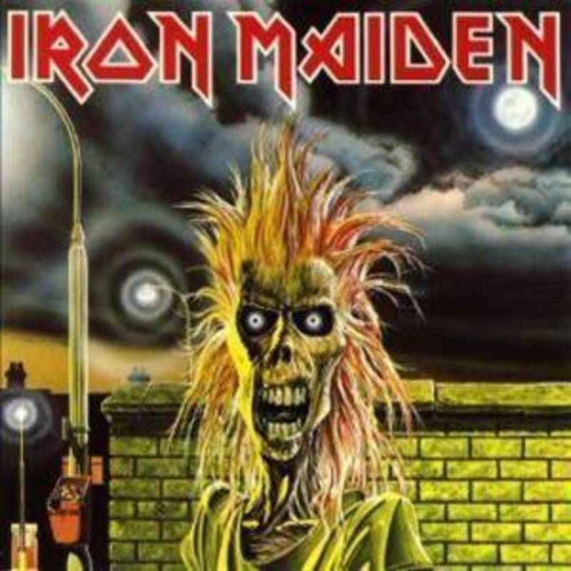 iron maiden cover debut