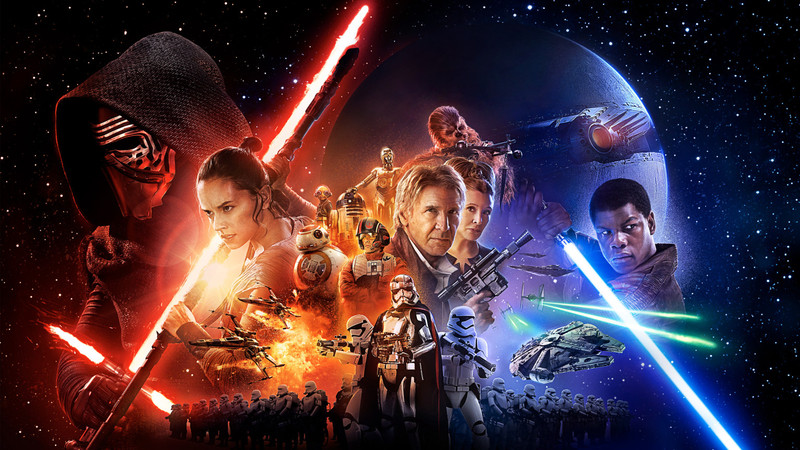 Star Wars Force Awakens Poster