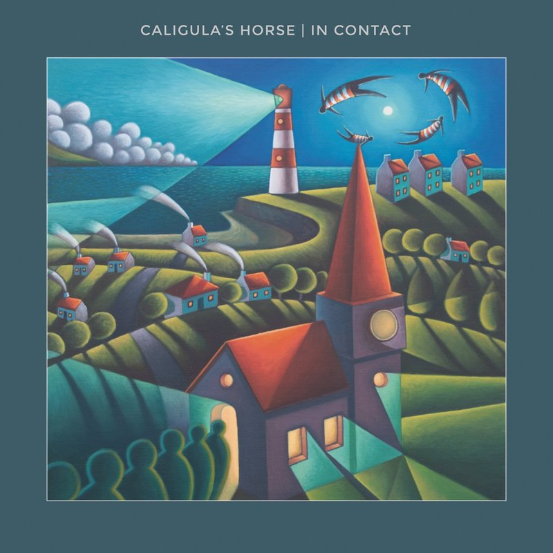 caligula's horse in contact cover